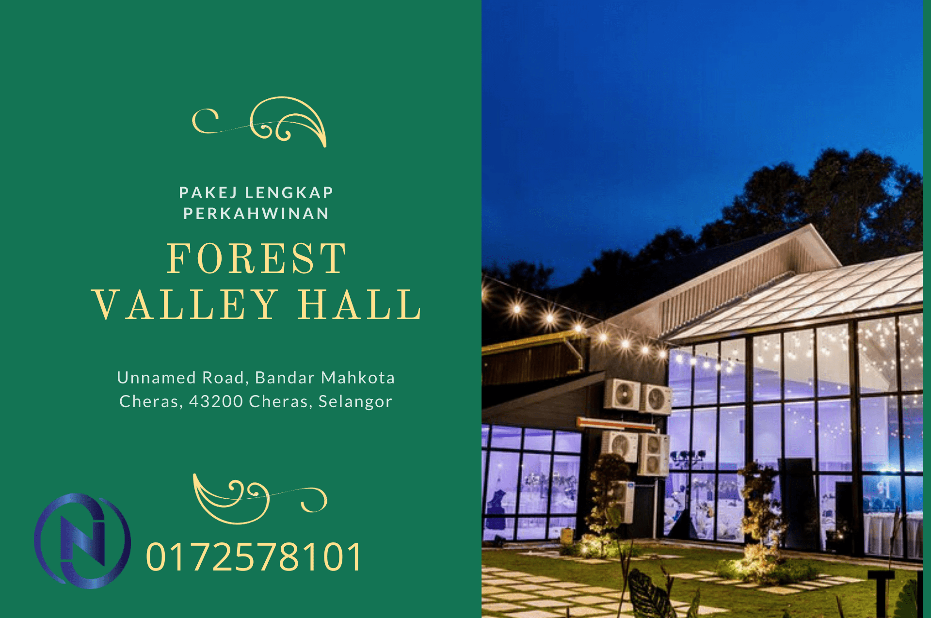 forest-velley-hall-mahkota-cheras
